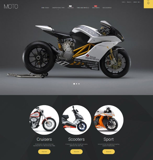 bike shop responsive prestashop mobile theme