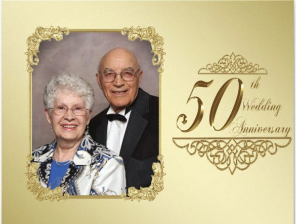 25 anniversary invitation templates free sample example format 50th wedding anniversary invitation for everyone stopboris