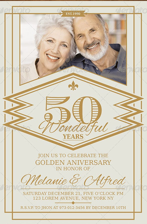 27 Anniversary Invitation Templates Psd Ai Word Free