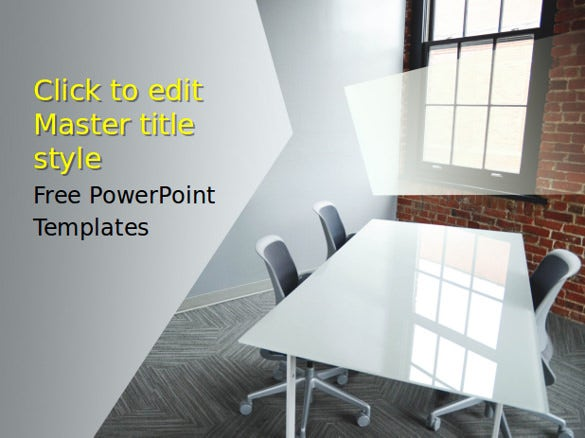 sample business loft powerpoint template free download