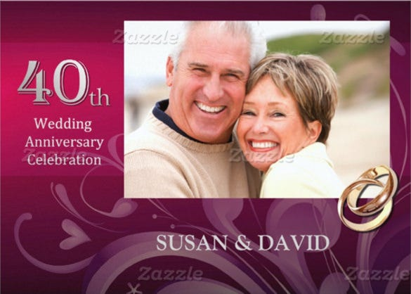 Anniversary invitation templates u free sample example