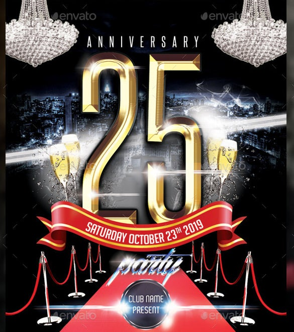 club name anniversary party