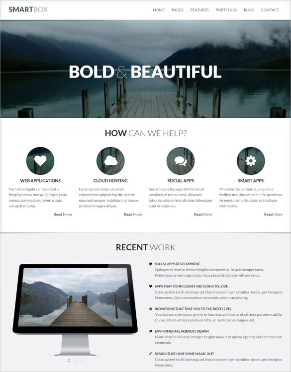 responsive mobile corporate business wordpress bootstrap theme