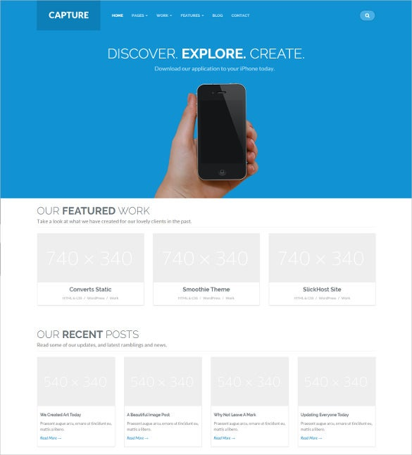 responsive bootstrap boxed layout mobile html template