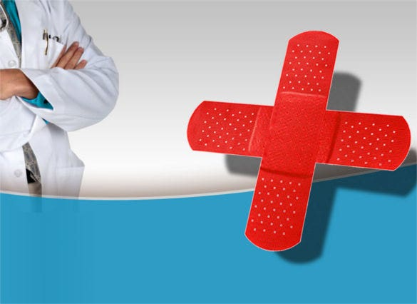 Medical Powerpoint Templates  Free Sample Example Format