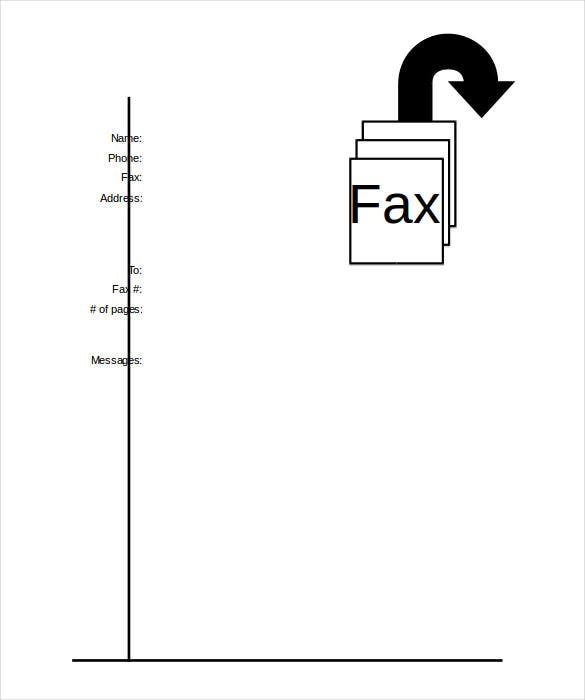 Printable Fax Cover Sheet Free Word PDF Documents Download - Fax cover letter template microsoft word