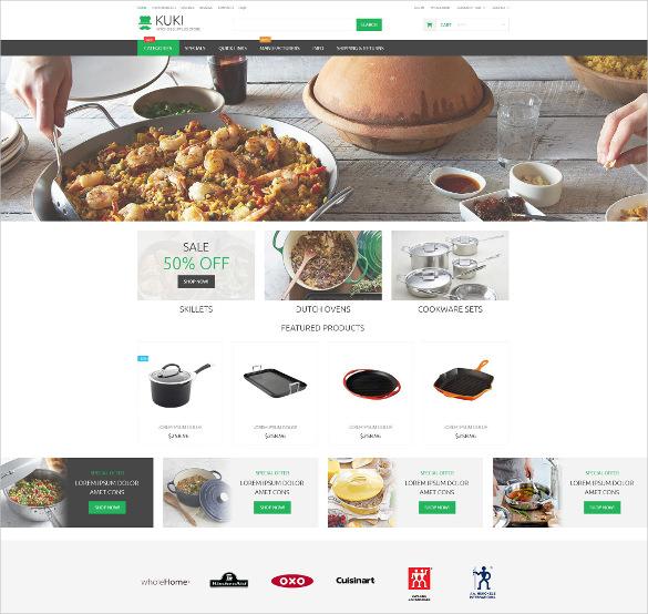 housewares responsive zencart mobile template