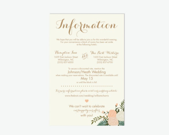 digital vintage wedding invitation psd format