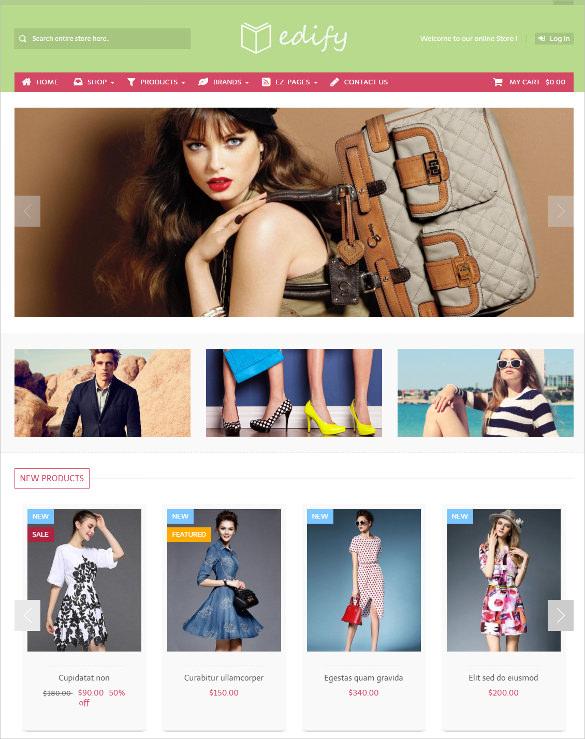 responsive mobile ecommecre store zen cart theme