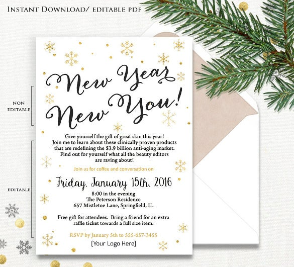 23 business invitation templates free sample example format business party invitation card stopboris Gallery
