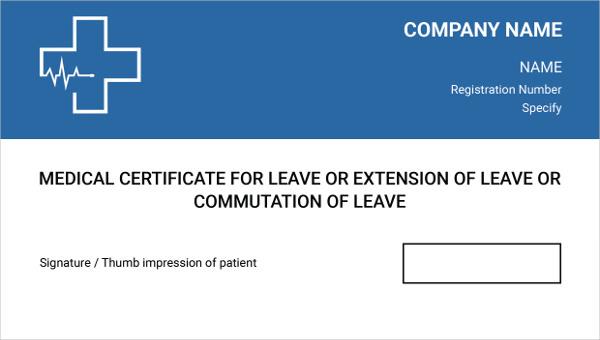 medical_certificate3 templat
