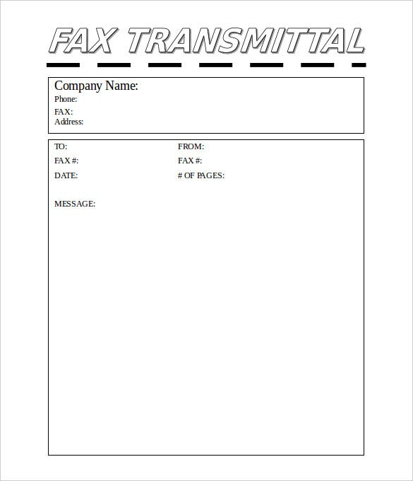 Professional Fax Cover Sheet – 10+ Free Word, PDF Documents Download ...