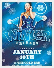 Frozen--Friday-Party-Flyer-Template