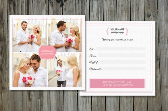 psd format photography gift certificate template download1