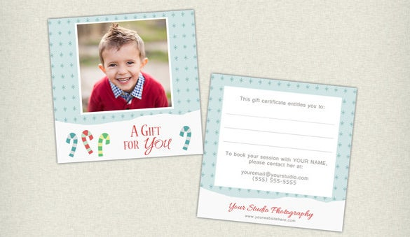 example of photography gift certificate download
