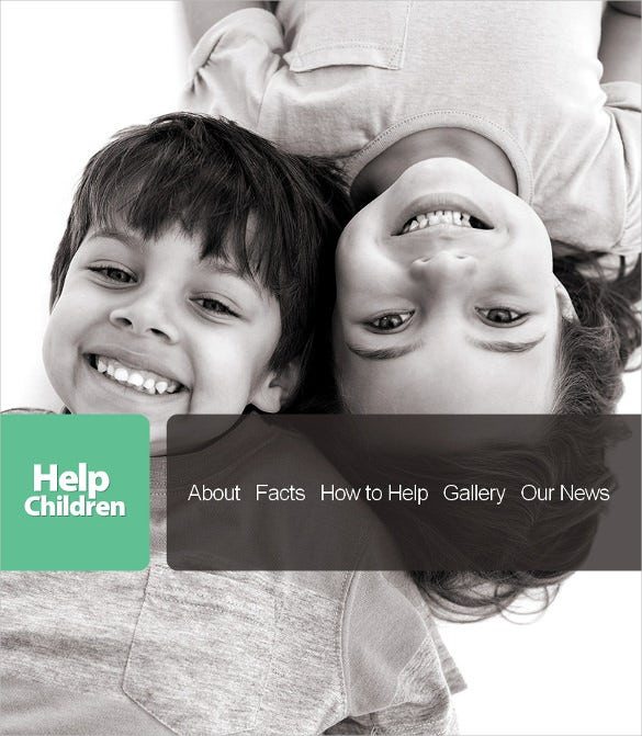 beautiful charity html cms website template