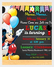 Custom-Mickey-Mouse-1st-Birthday-Invitations