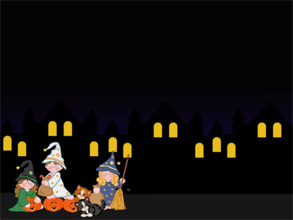 12 halloween powerpoint templates free sample example format halloween night powerpoint template free free download toneelgroepblik Images