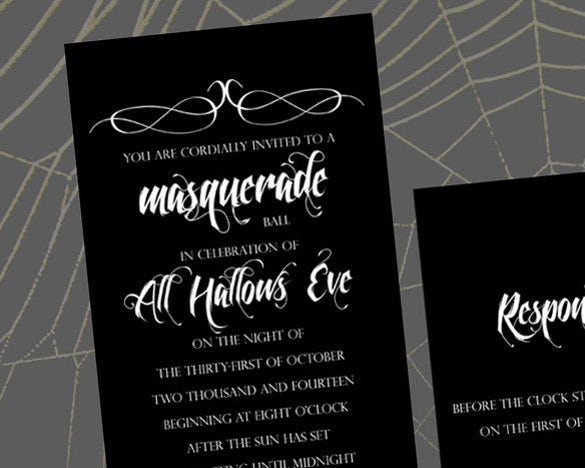 18+ masquerade invitation templates – free sample, example, format, Wedding invitations