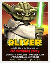 Personalised-Birthday-Party-Invitations-Star-Wars-Yoda-x-5
