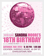 Disco-Diva-Teen-Birthday-Party-Invitation