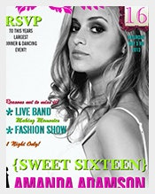 Trendy-Sweet-Sixteen-Magazine-Cover-invitations