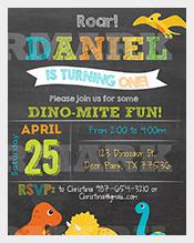 Digital-Dinosaurs-birthday-party,-personalized,-printable