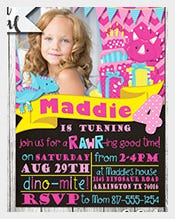 Girl-Dinosaur-Birthday-Invitation---Girl-Dinosaur-Invitation