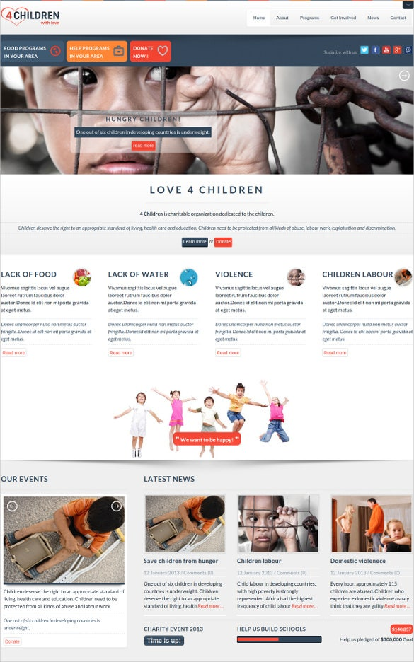 charity for child labour website