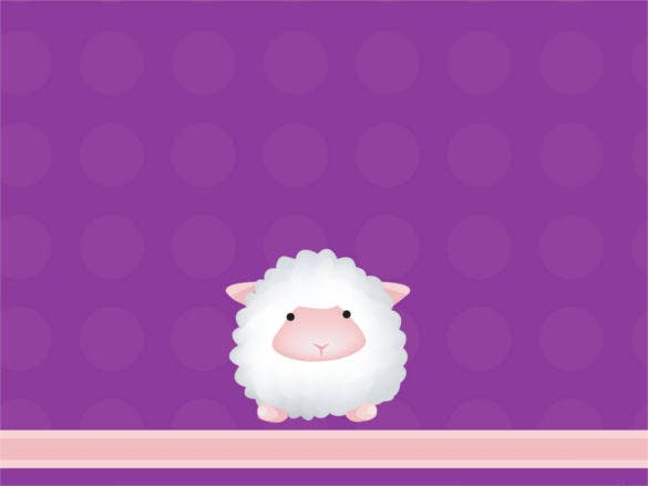 sheep powerpoint template