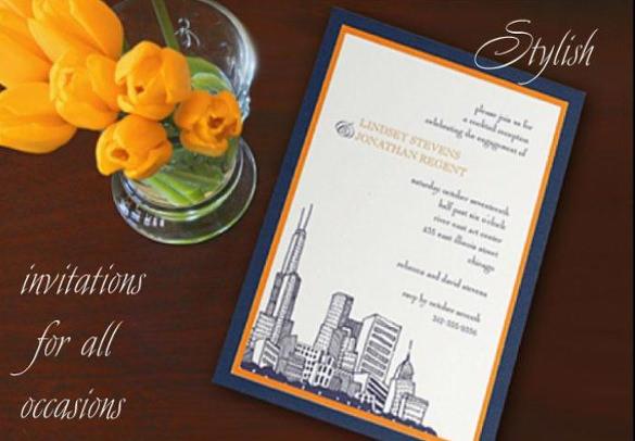 wedding calligraphy invitations