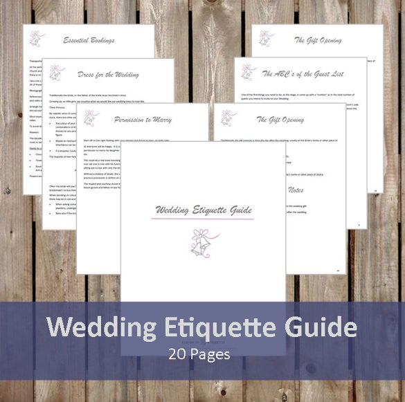 Etiquette For Wedding Gift Opening : Wedding Etiquette Guide