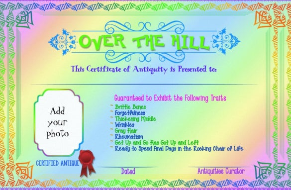 15 birthday gift certificate templates free sample example