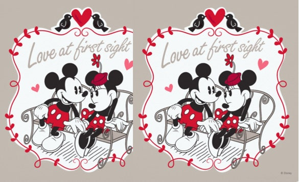 mickey and minnie mouse valentine party invitation