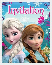 Disney-Frozen-Themed--Invitation-for-Birthday