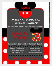 polka-dot-Red-Colour-Mickey-Mouse-Birthday-Invitation-For-Any-Age