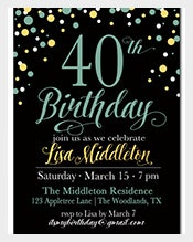 Navy-Black-40th-Birthday-Invitation-for-girl-