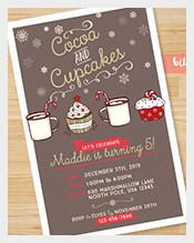 Cupcakes-theme-Printable-Custom-Kids-Birthday-Invitation