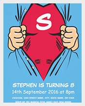 Blue-Red-Superhero-Birthday-invitation-For-Kids