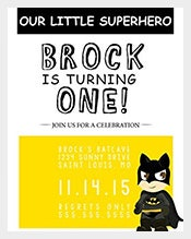 Cute-And-Beautiful-Toddler-Batman-Superhero-Birthday-Invitation