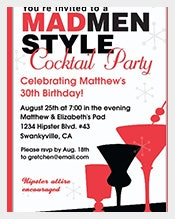 Red-and-Black-Cocktails-Adult-Birthday-Invitations