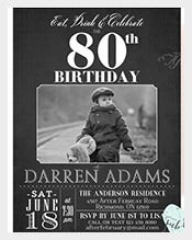 Charcoal-Black-Adult-Photo-Birthday-Invitation