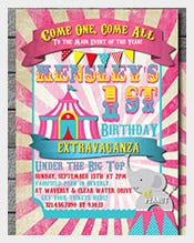 candy-Pink-chevron-carnival-Birthday-Template-With-Custom-Photo