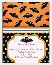 Spooky-bat-Design-halloween-Birthday-Invitation