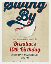 Elegant-and-beautiful-Baseball-Birthday-Invitation-with-envelope