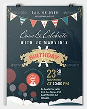 Birthday Invitations 550 Free Sample Example Format Download