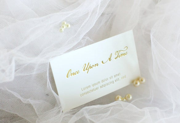 If You Are A Fan Of Fairy Tales Make Your Story Look Like One With This Beautiful Wedding Invitation Theme Elegant Card Mock Up That Tells How Once