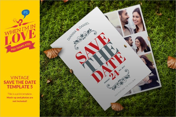 Save the date postcard template 25 free psd vector eps ai then your save the date postcard template should represent the same theme you can go for this tasteful template which allows you customize your postcard pronofoot35fo Gallery