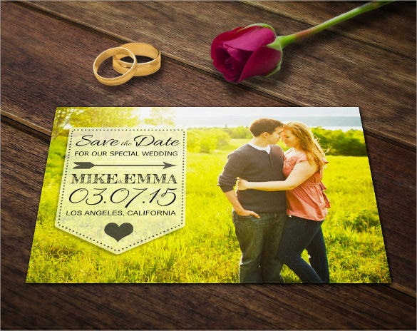 Save the date postcard template 25 free psd vector eps ai wedding save the date postcard template psd pronofoot35fo Gallery