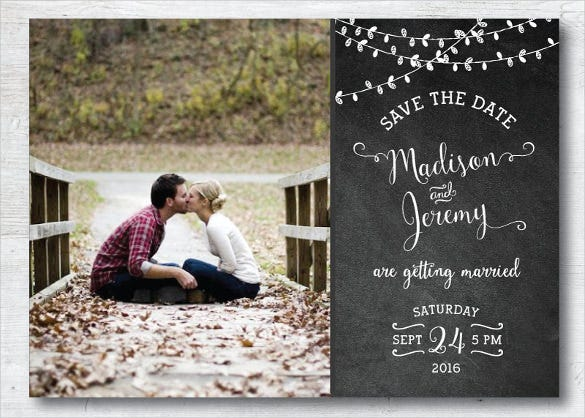 photograph regarding Free Printable Save the Date Templates named Help save The Day Postcard Template 25+ Totally free PSD, Vector EPS